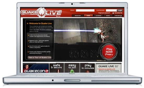 Quake Live para Mac