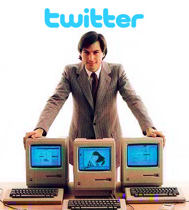 Apple comprando Twitter - Steve Jobs