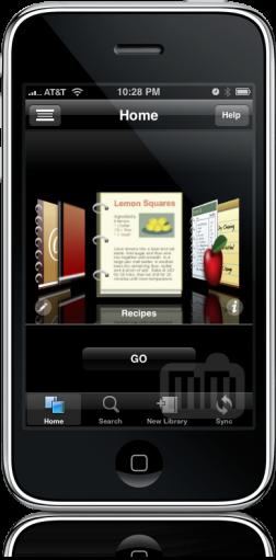 FileMaker Bento no iPhone