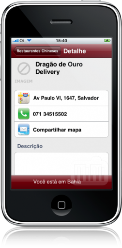 Biscoito da Sorte no iPhone