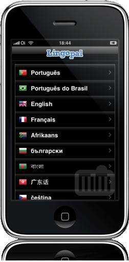 Lingopal no iPhone
