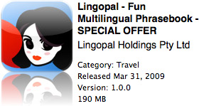 Lingopal na App Store