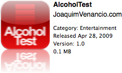 AlcoholTest na App Store