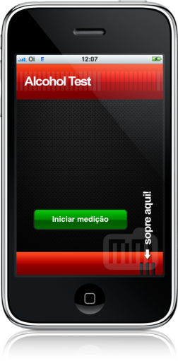 AlcoholTest no iPhone