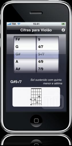 Cifras de Violão no iPhone