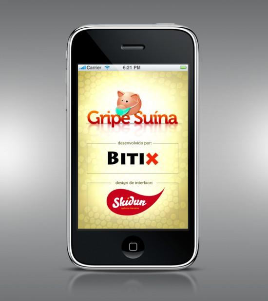 Gripe Suína no iPhone