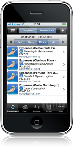 iBearMoney no iPhone