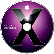 Primeiro DVD do Mac OS X 10.6 Snow Leopard
