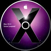 Primeiro DVD do Mac OS X 10.6 Snow Leopard