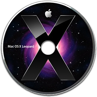 DVD do Mac OS X 10.5 Leopard