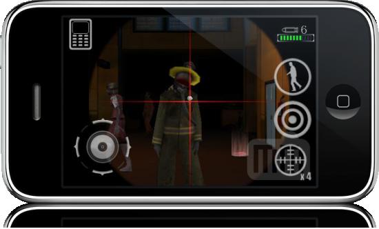 Resident Evil: DEGENERATION no iPhone