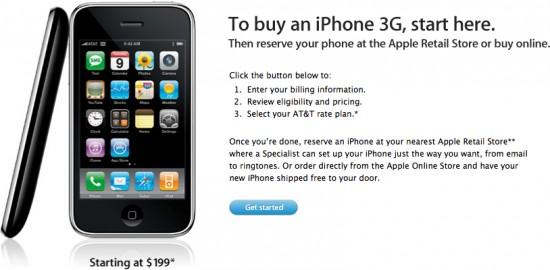 Compra de iPhone online