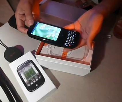Unboxing do Palm Pre