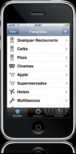 Para Onde? no iPhone