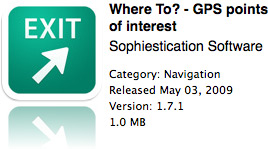 Where To? na App Store
