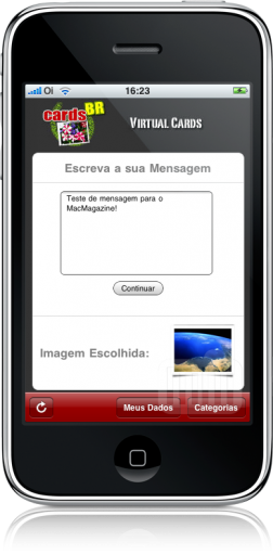 Cards BR no iPhone
