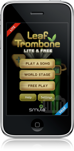 Leaf Trombone Lite & Free no iPhone