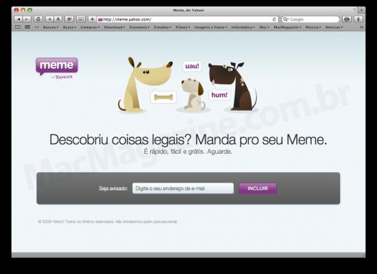Yahoo! Meme no Brasil