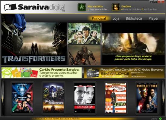 Aplicativo Saraiva Digital