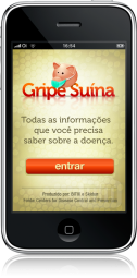 Gripe Suína no iPhone
