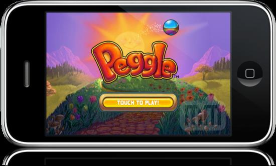 Peggle no iPhone