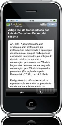 JusBrasil Mobile Lite - CLT, art 859, 2