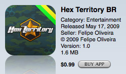 Hex Territory BR na App Store