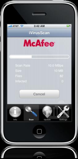 McAfee iVirusScan