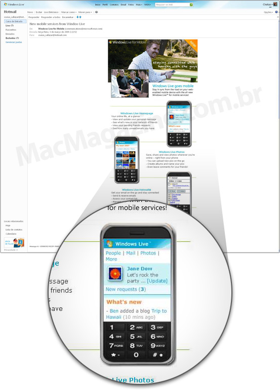 Microsoft iPhone