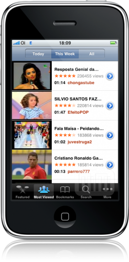 3G da Oi no iPhone