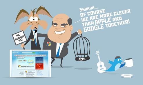 Behind the websites