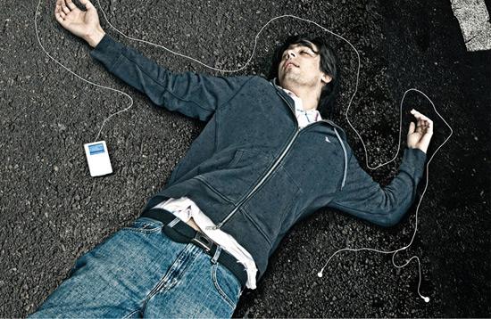 Atropelamento com iPod