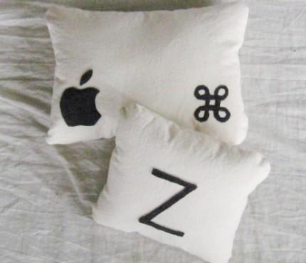 Command + Z em travesseiro