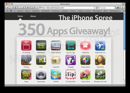 The iPhone Spree