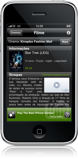 Cine Mobits no iPhone