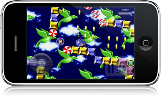 Sonic the Hedgehog no iPhone