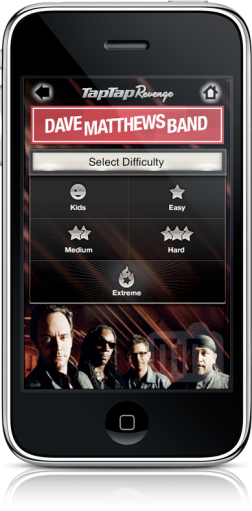 Tap Tap Revenge: Dave Matthews Band