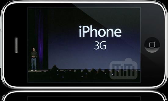 Lançamento do iPhone 3G na WWDC '08