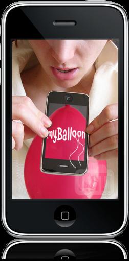 myBalloon no iPhone