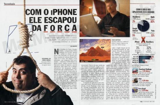 Desenvolvimento de iPhone na Veja