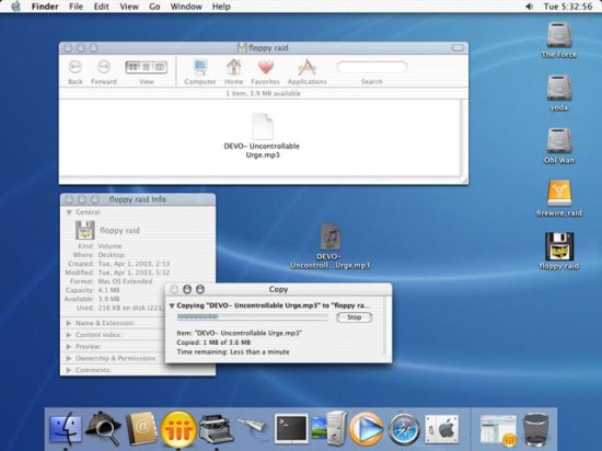 RAID floppy num iMac G3