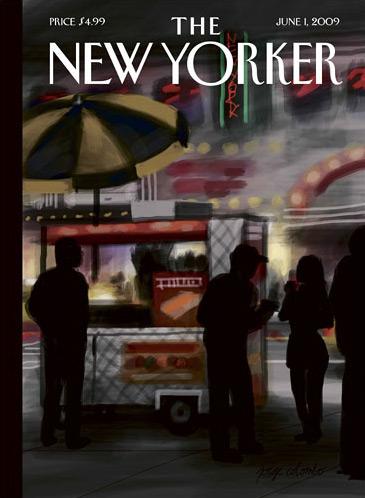 Capa da New Yorker feita com iPhone