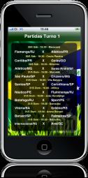 Campeonato Brasileiro 2009 no iPhone