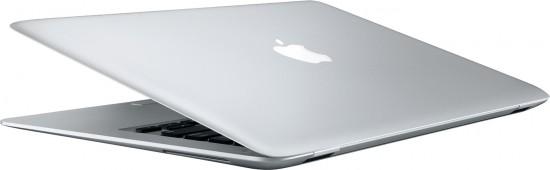 MacBook Air de lado e de trás