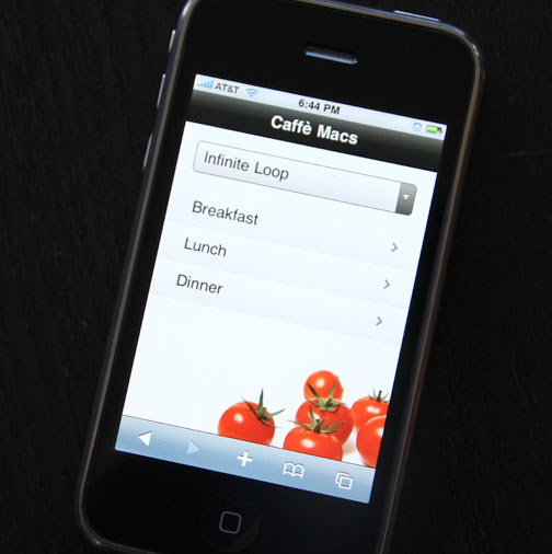 Caffé Macs Web App