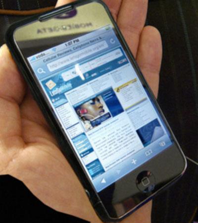 Mockup do iPhone 3ª geração