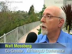 Walt Mossberg no Tech Ticker