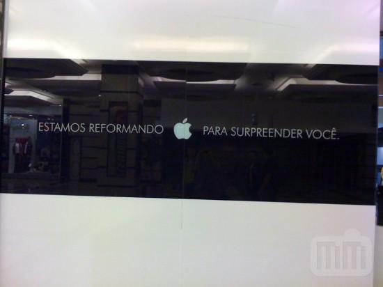 Apple em loja da Philden