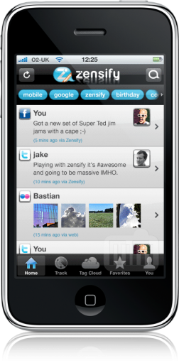 Zensify Preview no iPhone