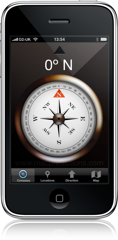 Compass no iPhone